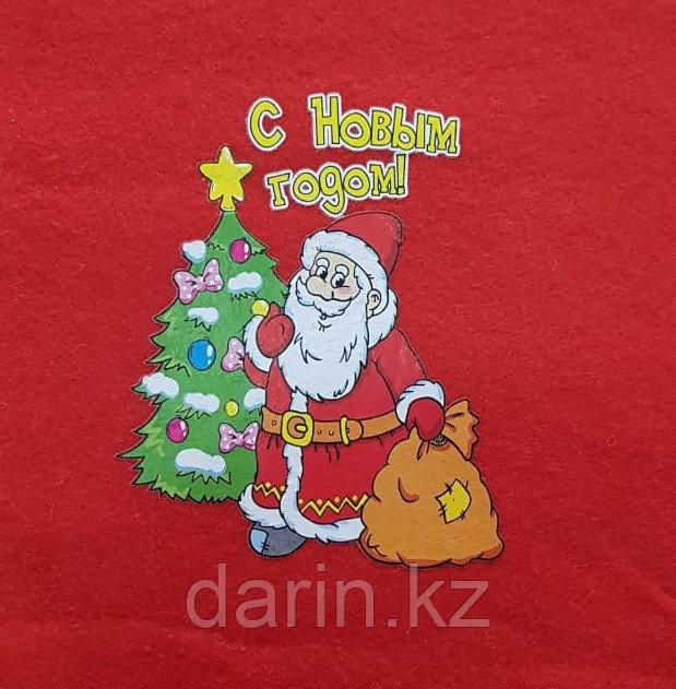 Мешок новогодний для подарков 30х40см - фото 2