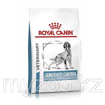 Корм для собак с аллергией на растения Royal Canin SENSITIVE CONTROL DOG 1,5kg.