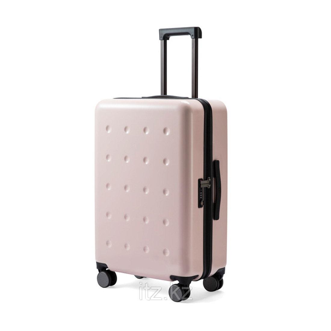 "Чемодан Mi Trolley 90 Points Syr Darya luggage 20"" Розовый"