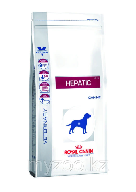 Сорм для собак с проблемами печени Royal Canin HEPATIC CANINE 1,5kg.
