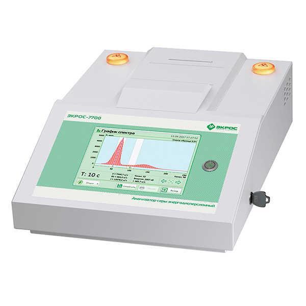Анализатор серы энергодисперсионный ЭКРОС-7700 (5 ppm)