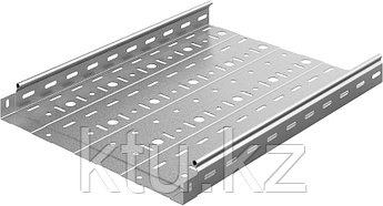 Металлический лоток неперфорированный 400х50х2500