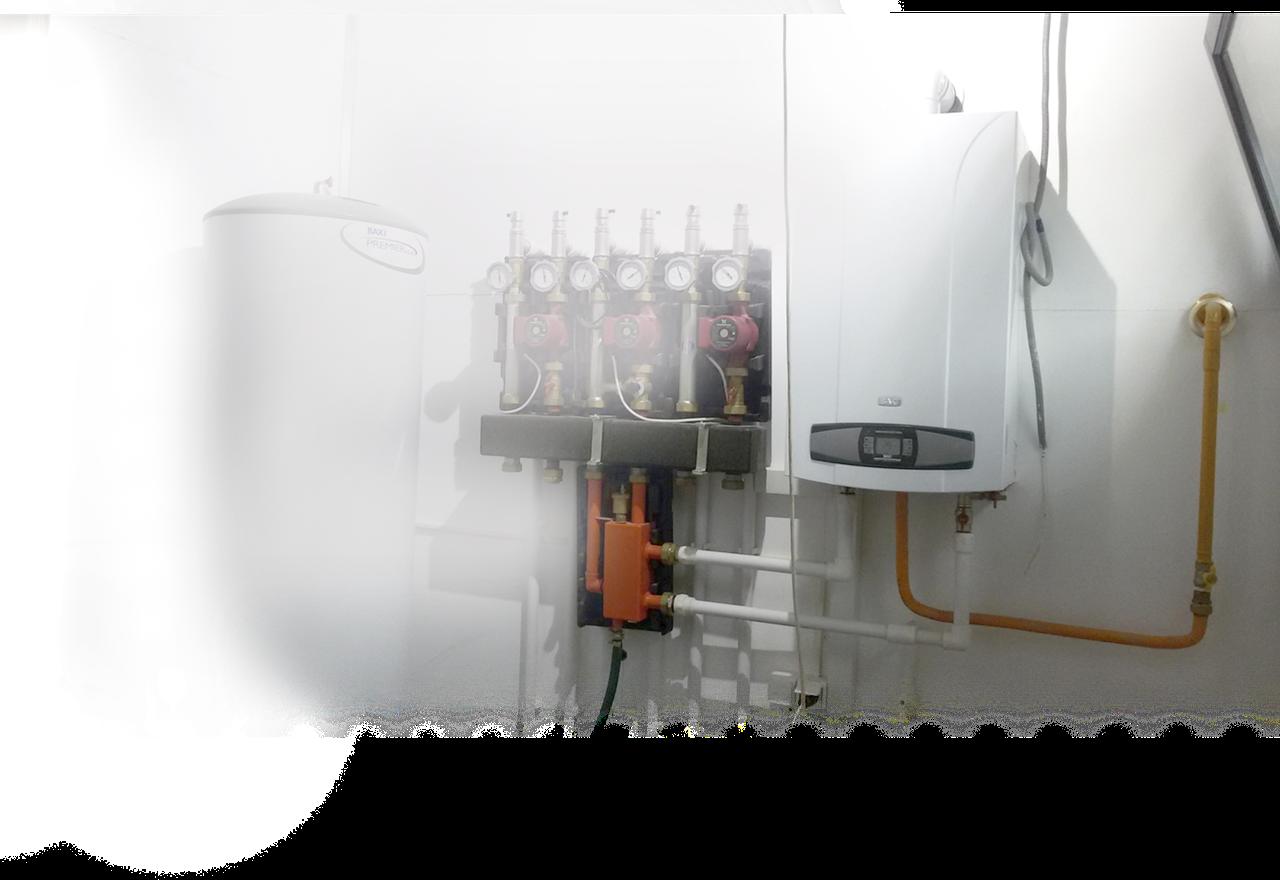Проект и монтаж отопления под ключ, с гарантиями