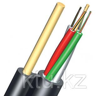 Кабель волоконно-оптический ОКНГ-Т12-С12-1.0 (ВП) – кабель с двумя прутками в оболочке 12 отдельных волокон