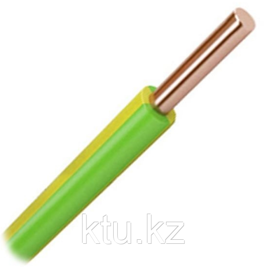 Провод ПВ1- 1,5 желт-зелен