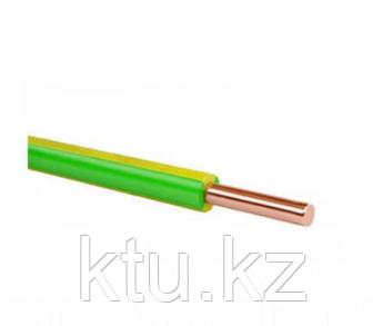 Провод ПВ1- 2,5 желт-зелен