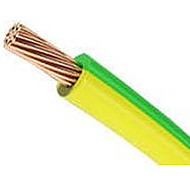 Провод ПВ3- 0,75 жел-зел