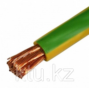 Провод ПВ3- 6 жел-зел