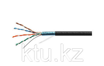 Кабель UTP CAT5E 4P 24AWG PE, для внешней прокладки