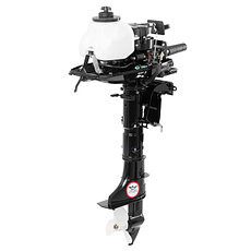 Двухтактный лодочный мотор HIDEA HD5FHS, фото 3