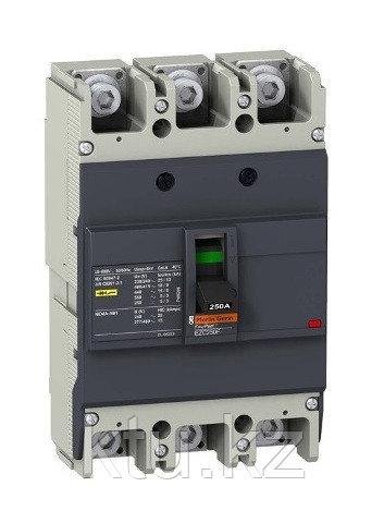 Авт.выкл. EZC250F 18KA 400B 3П/3T 160А