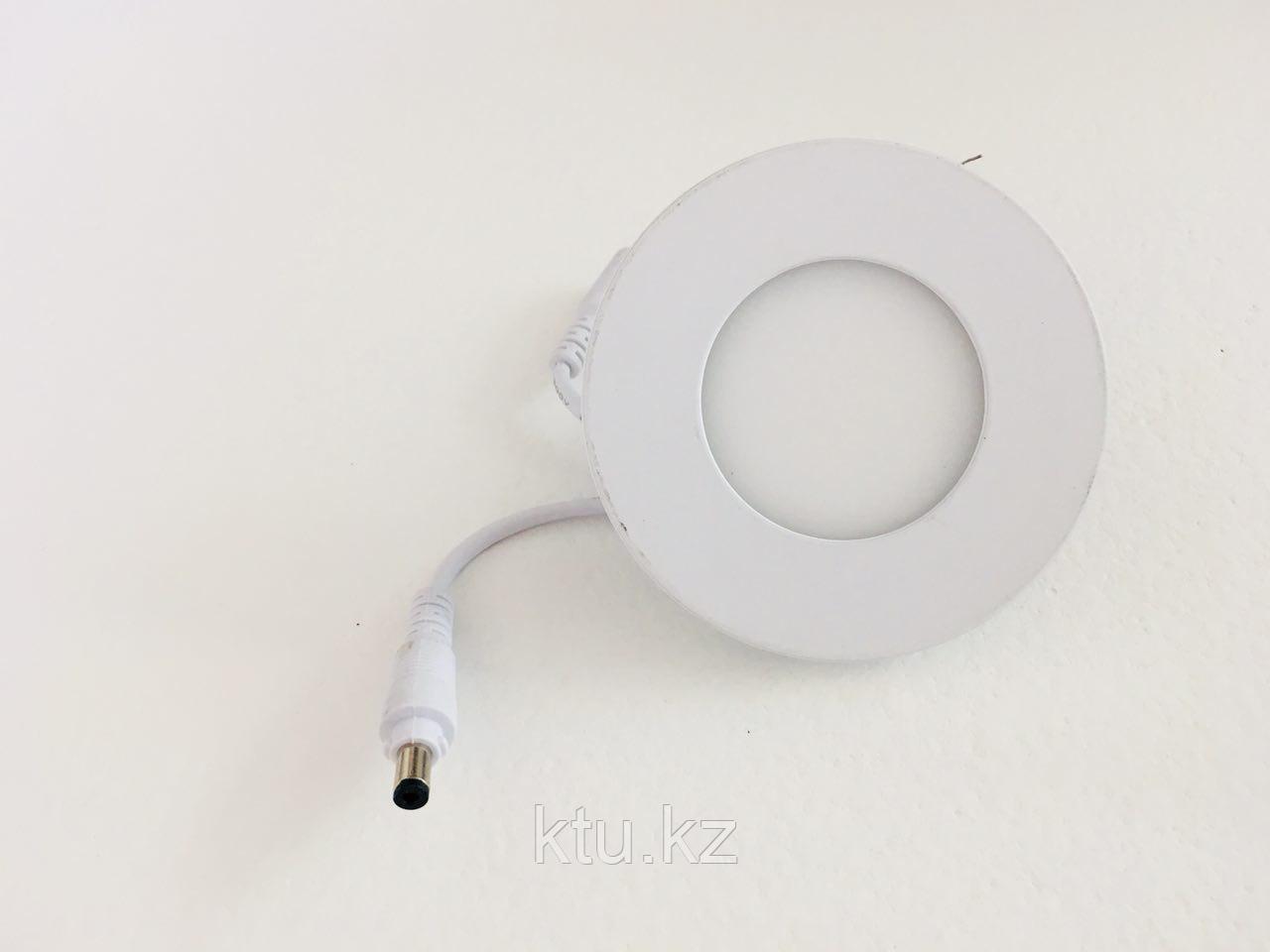 Светильник (споты) для ванной JL-F 3W,внутренний 1год гарантия