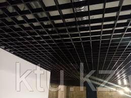 Потолок Грильято черный