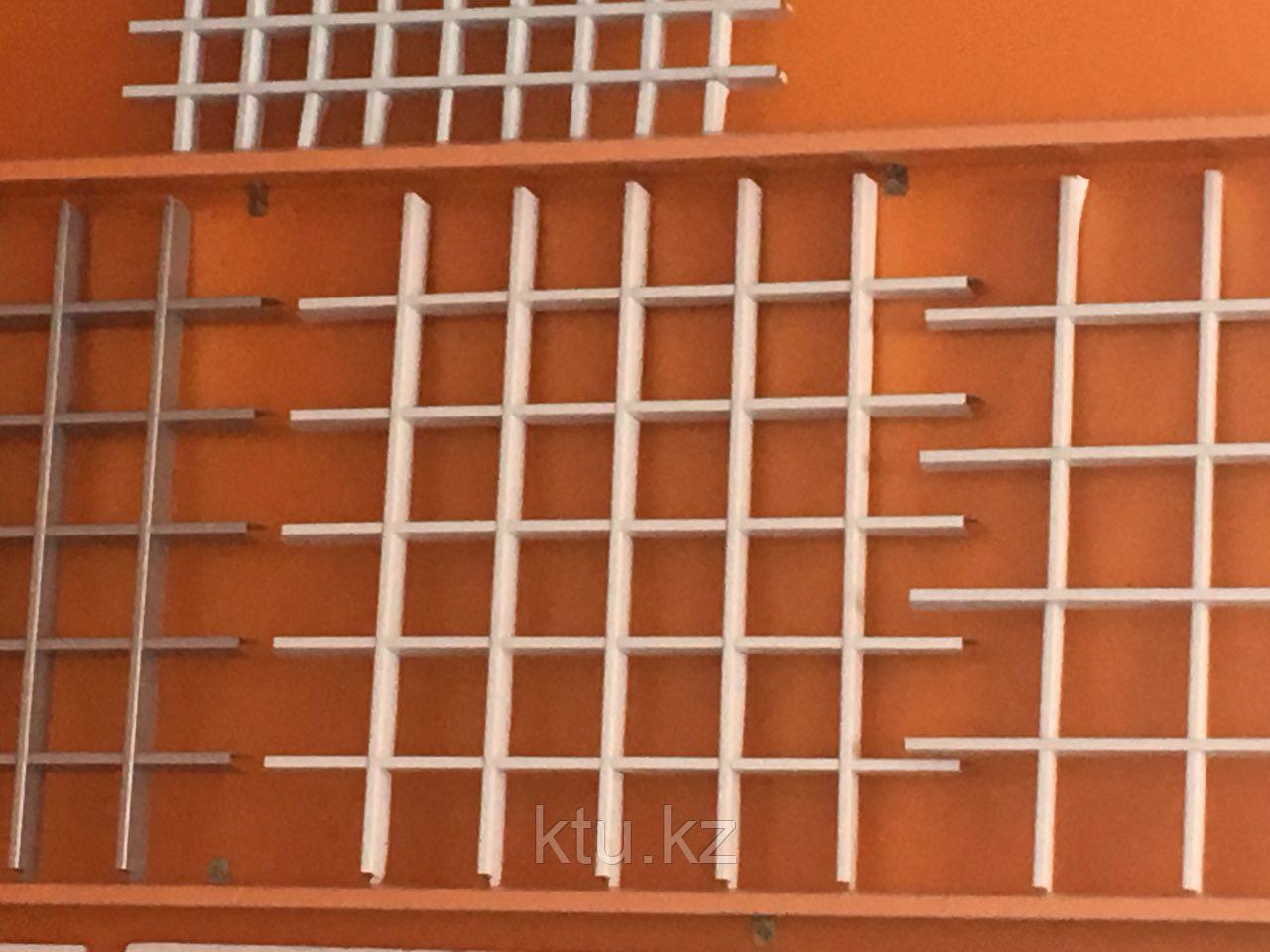 Потолок Албес Grigliato 120*120 проф 2,4 белый мат