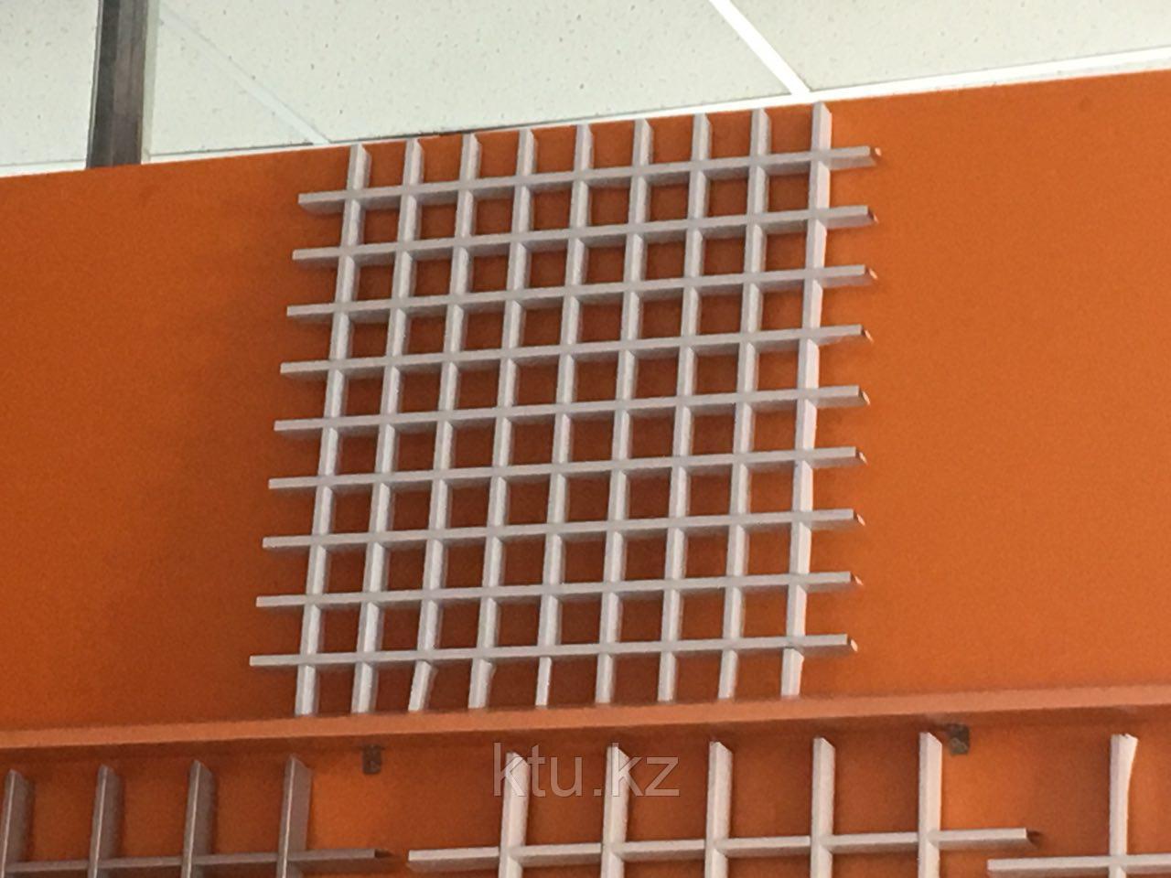 Подвесной потолок Албес Грильято 100*40*10 Металлик 1200
