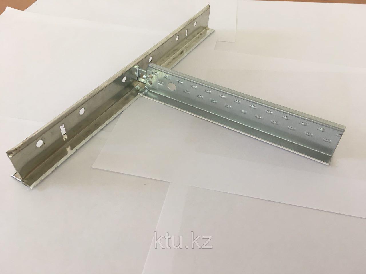 Подвесной Потолок Армстронг Направляющая металлик 3,7