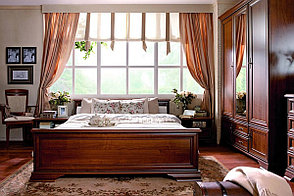 Кровать двуспальная (Kentaki LOZ 180), коллекции Кентаки, Каштан, BRW-Украина (Украина), фото 3
