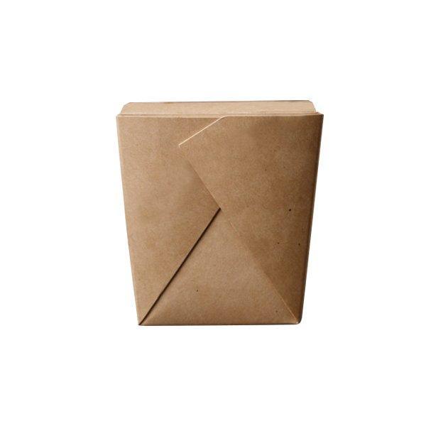 Коробка д/лапши, 460мл, склеенная  102х89х120мм, коричн., картон, 420 шт