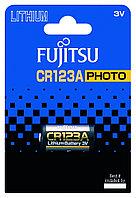 Fujitsu CR123A(B), серии Photo, 1 шт, (в блистере) Батарея литиевая, фото 1