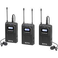 BOYA WM8-K6 (BY-WM8R+WM8T+WHM8) Набор беспроводного радиомикрофона и радиопетлички, фото 1