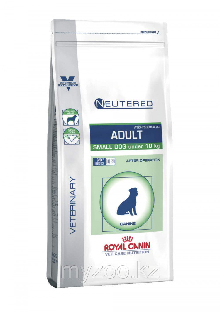 Корм для кастрированных/стерилизованных собак Royal Canin Neutered Adult Small Dog1,5 kg