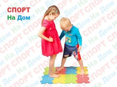 Детский ортопедический модульный коврик-массажер для ног Fosta