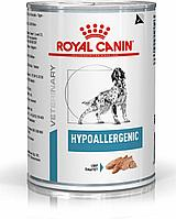 Влажный корм для собак с аллергией на растения Royal Canin HYPOALLERGENIC CANIN 400 g.