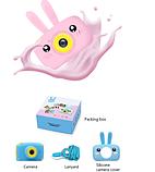 Фотоаппарат GSMIN Fun Camera Rabbit со встроенной памятью и играми., фото 6