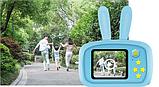 Фотоаппарат GSMIN Fun Camera Rabbit со встроенной памятью и играми, фото 4