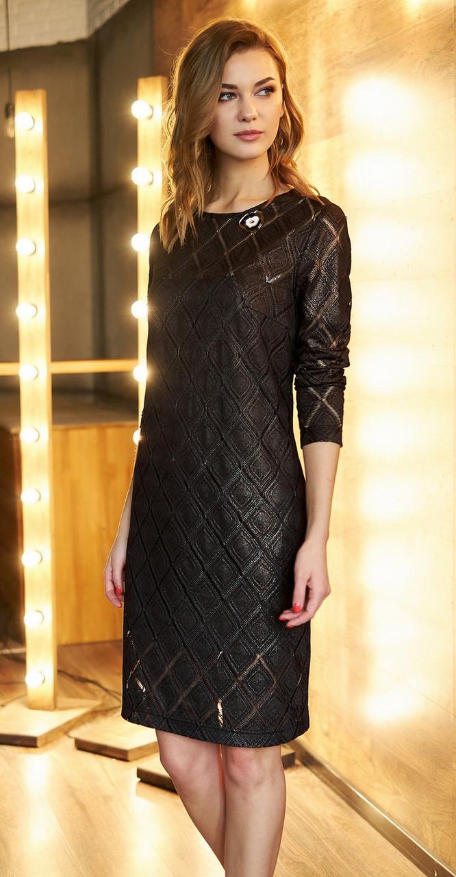 Платье Fantazia Mod-3601, черный, 48