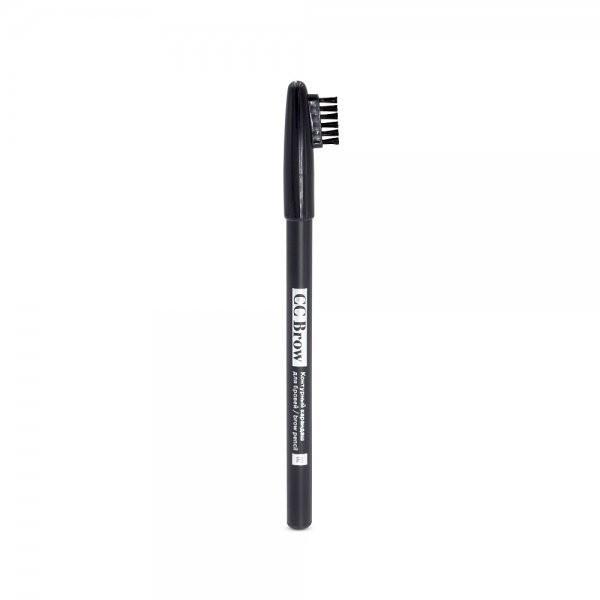 Карандаш для бровей CC Brow Brow Pencil контурный - 01 серо-чёрный