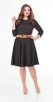 Платье Дали-5439, коричневый, 44