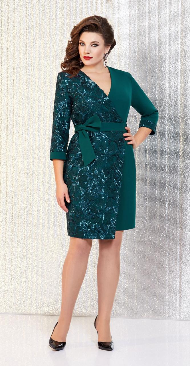 Платье AGATTI-3325, зеленый, 48