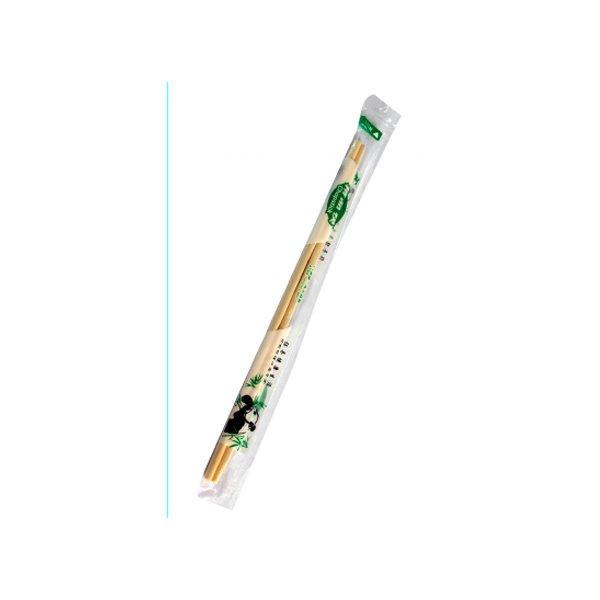 Палочки д/еды китайские,d=5мм, h 230мм, бамбук в инд. п/э, 100 шт
