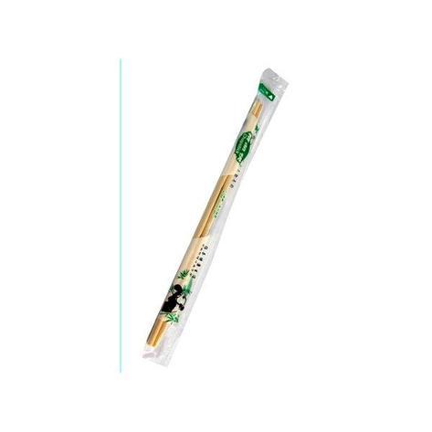 Палочки д/еды китайские,d=5мм, h 230мм, бамбук в инд. п/э, 100 шт, фото 2