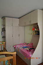 Кровать детская с угловым шкафом