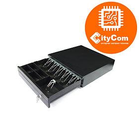 Денежный ящик для купюр и монет MERCURY CD-4043 Кассовый ящик. Автоматический. Арт.5814