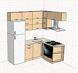 Кухня на 6-ти кв. кухне, фото 5