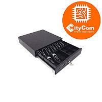Денежный ящик для купюр и монет Sunphor SUP-A4042 Кассовый ящик. Автоматический. Арт.4367