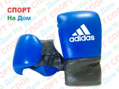 Боксерские перчатки ADIDAS кожа (со шнурками)