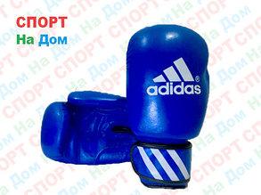Боксерские перчатки ADIDAS кожа (синий), фото 2