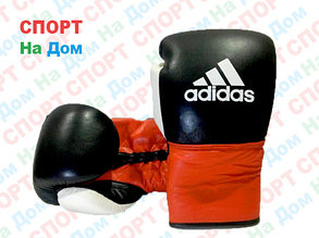 Боксерские перчатки ADIDAS кожа (со шнурками), фото 2