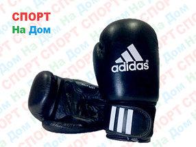 Боксерские перчатки ADIDAS кожа (черный)