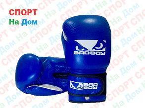 Боксерские перчатки BADBOY кожа (синий), фото 2