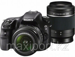 Sony A58 с 2 объективами kit 18-55 + 55-200
