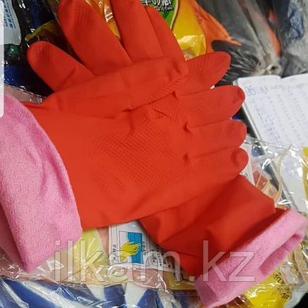 Перчатки резиновые утеплённые, фото 2
