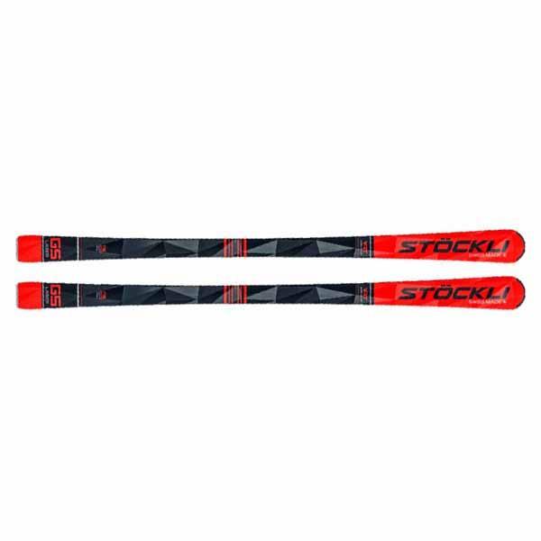 Stockli  лыжи горные Laser GS  MC12 red-white-black / SRT12 red-black