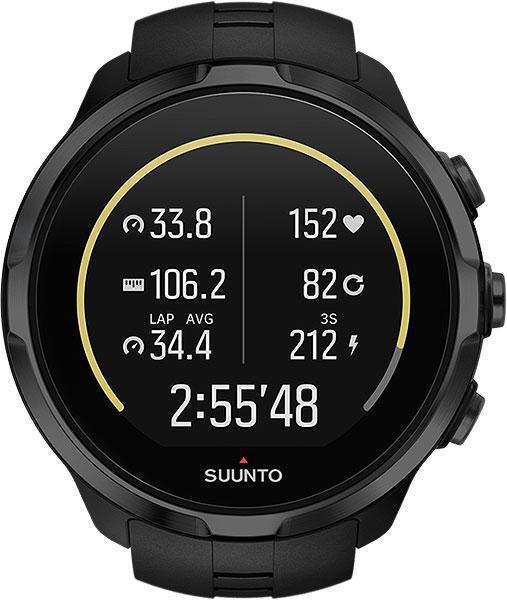 Suunto  часы Spartan Sport Wrist HR all black