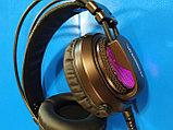 Игровые наушники XIBERIA V10 PRO, с микрофоном и подсветкой 7.1,Алматы, фото 2
