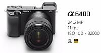 Sony Alpha 6400 18-135 F3.5 - 5.6 OSS